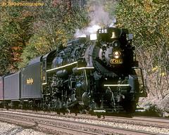 NKP 765 (jgabby7) Tags: wv berkshire nickelplateroad steamlocomotive meadowcreek 284 765 newrivertrain