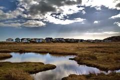 Sky (Graham H Lock) Tags: beach huts dorset