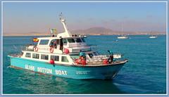 Canary islands, Fuerteventura (aad.born) Tags: espaa ferry spain fuerteventura espana canaryislands spanje loslobos islascanarias veerboot corralejo  canarischeeilanden  isladelobos corralejobeach aadborn