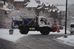 Park City Department of Public Works Snow Plow (zamboni-man) Tags: winter rescue mountain snow ski bus shower hill dot resort international plow mack plough snowplow whelen
