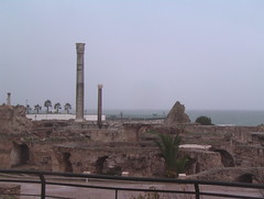 Ruins of the Roman Baths of Carthage