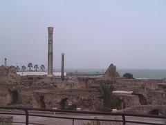 Ruins of the Roman Baths of Carthage