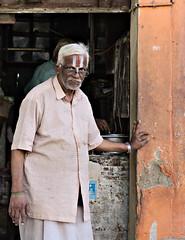Hindu Portrait (Feca Luca) Tags: street portrait india nikon asia ritratto reportage