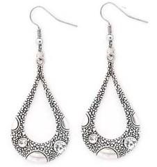 5th Avenue White Earrings P5611-1