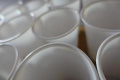 DSC01288 (The Man-Machine) Tags: macro modernart plastic cups unfocused plasticart weareheretomakeplastic