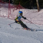 Hemlock's Chase Burns - U12 Teck slalom PHOTO CREDIT: Jenn Voss