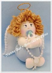 Lembrancinha Batizado (Nanne Baby Bonecas de Pano) Tags: de pano batizado infantil fuxico bebê boneca lembrancinhas