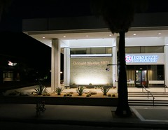 Eisenhower Health Center, Illuminated, Palm Springs (hmdavid) Tags: california sunset architecture modern tour palmsprings modernism center architect health week eisenhower midcentury donaldwexler illuminatedmodern