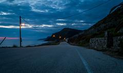Light my way... (vlassisd123) Tags: road beach landscape seaside nikon greece 1855mm corfu d3200