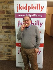 Rabbi Phil likes cherry hamantashen best!