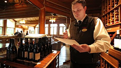 Triple Creek Ranch Lounge/Wine Cellar