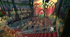 Avilion Grove - Valentine's ball (Osiris LeShelle) Tags: life ball dance day grove formal valentine medieval fantasy secondlife ballroom second roleplay avilion