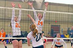 IMG_9014 (SJH Foto) Tags: school girls net sports club for high team jump shot action group battle teen teenager spike midair volleyball block gps favourite crush critique u16s crushteam