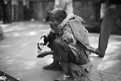 Beggar (sparksy2k14) Tags: life india station canon eos delhi homeless poor beggar 5d