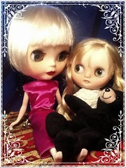 Daisy Buchanan and Becky: Toy-in-the Frame Thursday