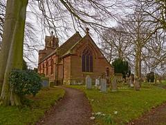 Crosby on Eden  St Johns Church (penlea1954) Tags: tower church st parish john spire cumbria eden flowing colossal crosby tracery sockets lucarnes evangelists rhbillings