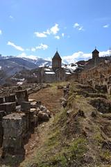 7_Tatev_239 (sadat81) Tags: mountains church for wings ancient top hill christian caucasus armenia sacred only góry eagles monastir caucas monastyr tatev kaukaz վանք տաթեի