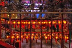 Man Mo Temple (Man Mo Miu) - Hollywood Road, Sheung Wan, Hong Kong Island (sparqx) Tags: red canon temple hongkong candle smoke coil brass incense hongkongisland manmo chinesetemple manmotemple hollywoodrd hollywoodroad sheungwan kwantai burningincense wenwu manmomiu waynewilliams eos7d mancheong sparqx litshing kungso