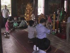 Folk Worship in Phnom Penh