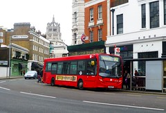 Tower Transit DML44324 (YX12AYF) on route 70 at South Kensington Station - 28th February 2015 (Alex-397) Tags: bus london buses kensington southkensington