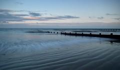 Slow Motion (hall1705) Tags: sea seascape beach water seaside movement sand pattern westsussex tide shore felpham d3200