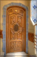 Casa Batll Doors 2 (GarryBoggan) Tags: barcelona door espaa spain gaud casabatll espanya antonigaud nikond600 garryboggan