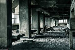 _O7A8924 (AntonyCASAFilms) Tags: urban abandoned monochrome concrete 3d factory belgium exploring plan marshall maze coal escher exploration derelict washing ue urbex