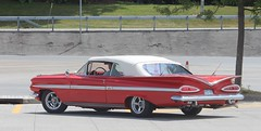 1959 Chevrolet Impala (Quistian) Tags: red chevrolet vintage impala 1959