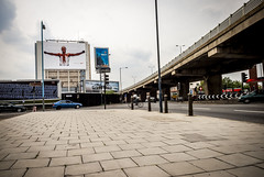 Great West Road, Brentford (pixelhut) Tags: london uk england brentford greatwestroad a4 westlondon 2006 nike justdoit football billboard poster euro2006