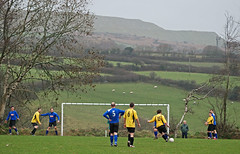 St Stephen v Holywell Bay & Cubert Athletic, Duchy League Division 2, January 2011 (darren.luke) Tags: st landscape football cornwall stephen fc grassroots cornish holywell cubert nonleague