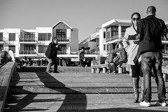 eden on the bay4 (WITHIN the FRAME Photography(5 Million views tha) Tags: street capetown people strangers candid tourists photographer wide bw fuji xt1