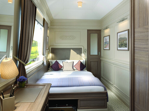 Belmond Grand Hibernian - double bed suite