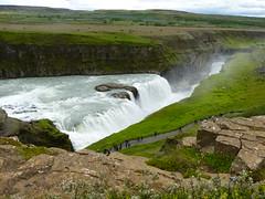 P1870426 Gullfoss waterfall  (18) (archaeologist_d) Tags: waterfall iceland gullfoss gullfosswaterfall