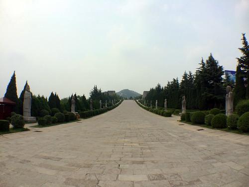 Qianling Mausoleum, Shaanxi