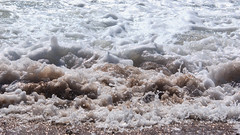 frothy lobes (Francis Mansell) Tags: water wave breakingwave seashore sandymouth cornwall sand beach watersedge froth spume outdoor