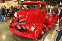 2016 Grand National Roadster Show (USautos98) Tags: 1946 chevrolet chevy coe cabover truck hotrod streetrod custom