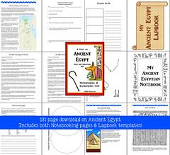 Ancient Egypt Unit (CHSH - Christian Home School Hub) Tags: scriptures egypt egyptian chsh bibleandegypt