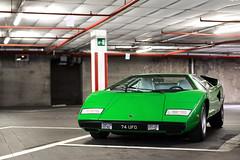 LP400. (Alex Penfold) Tags: lamborghini countach lp400 green supercars supercar super car cars autos villa deste 2016 alex penfold