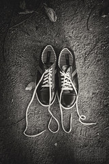 Love is in the air (Himanshu Joshi Bangalore) Tags: nikon d610 2485 shoes surreal monochrome blackandwhite bw love silver efex pro nik stilllife still life