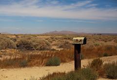 retreat (Maureen Bond) Tags: mail alone retreat quit middleofnowhere screamiwonthearyou hot beautiful ca maureenbond