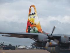 4144 Lockheed C-130E Hercules Pakistan Air Force (graham19492000) Tags: lockheed hercules c130e 4144 pakistanairforce riatfairford