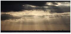 Moody Skies (MMcStudio) Tags: liverpool wallasey newbrighton sunset crepuscularrays liverpoolbay