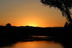 Scatto sul fiume paglia (emiliano.galati) Tags: bridge sunset summer sky italy beauty canon river relax strada italia estate riverside fiume ponte cielo savannah umbria orvieto savana skyporn 100d canon100d