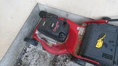 After the final cut in Knocklofty (Bernie Goldbach) Tags: xperiaz5 briggsandstratton mower lawnmower