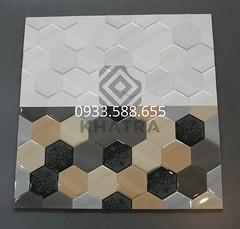 Gạch ốp tường 30x60 lục giác 3 màu