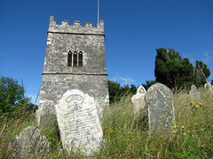Church of St Tallanus (vintage vix - Everything is a miracle) Tags: talland sttallanus churchtower belltower cornwall