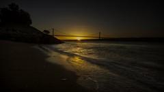 Ocaso (Telmo Pina e Moura) Tags: ginjal almada sunset prdosol ponte25deabril landscape tokina1116 hdr