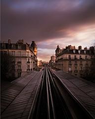 Train rails in Paris (photoserge.com) Tags: ifttt instagram leading lines view paris train rails
