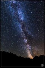 La voie lacte depuis le lac de  Coueyla-Gran (stofmania) Tags: christopheaubin coueylagran pyrnes stofmania lacte montagne mountain night nuit randonne stars voie toiles