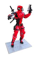 Deadpool (~Likus~) Tags: lego deadpool bionicle hero factory superheroes technic robot